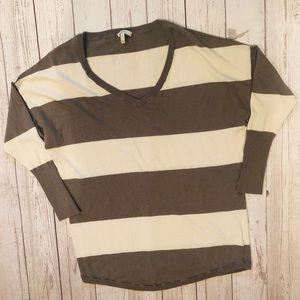 Joie striped sweater size XS cashmere wool blend